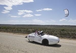 Первый в мире ветромобиль пересек Австралию