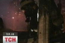 В окно квартиры жительницы Николаева влетела военная сигнальная ракета