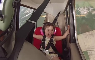 В поисках адреналина. Отец с дочерью на борту выполнял опасные трюки