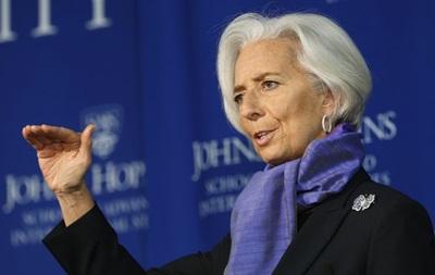 МВФ поддержит Украину без дополнительных условий – Лагард