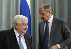 Власти Сирии готовы начать переговоры с мятежниками - глава МИД