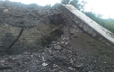 Подрыв моста на Луганщине расценили как теракт