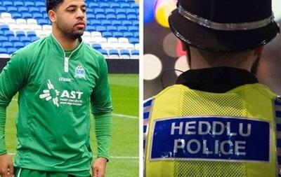 В Уэльсе полиция арестовала футболиста прямо на поле