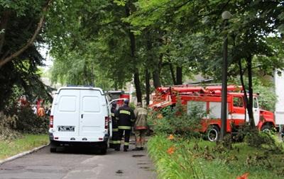 В Киеве горела психиатрическая больница