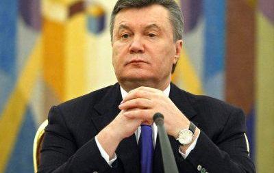 Янукович благодарен Путину за спасение своей жизни
