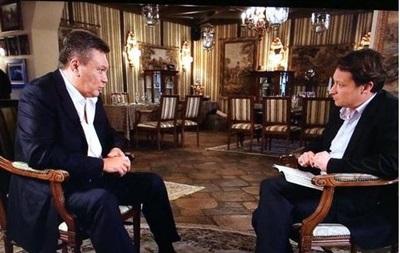 Янукович о страусах в Межигорье: Они просто там жили