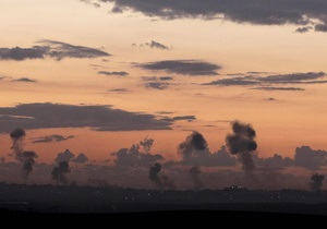Израиль согласился временно прекратить огонь