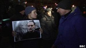 Митинг в защиту Удальцова в Москве прошел без задержаний