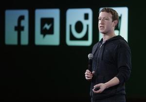 Цукерберг объявил, что Сенат США поддержал главную идею его политического движения