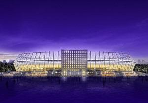 Очевидцы: Во время церемонии открытия НСК Олимпийский произошло возгорание под крышей