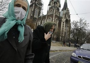 Число жертв гриппа и ОРВИ в Украине возросло до 463 человек