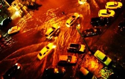 После Сочи ливень затопил Воронеж