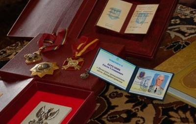 В Киеве придумали новую медаль для почетных граждан