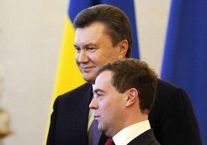Медведев пообещал Януковичу приехать в Украину