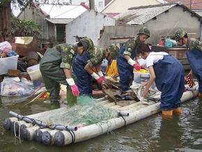 Тайвань попросил международное сообщество помочь в борьбе с последствиями тайфуна