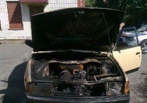 В минувшие выходные в трех районах Киева горели автомобили
