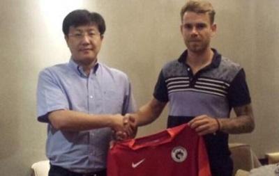Бывший игрок Волыни продолжит карьеру в Китае