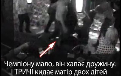 В Сети разместили видео, как чемпион Украины по боксу избивает супругов