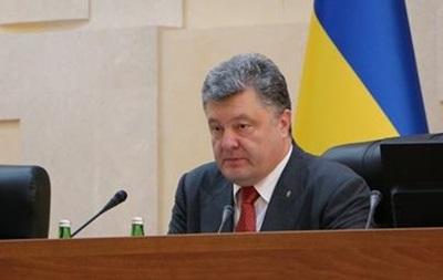 Порошенко не советует губернаторам ходить в отпуска на 2-3 недели