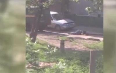 Появилось видео побега убийцы сотрудников Укрпочты