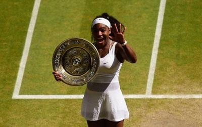 Серена Уильямс в шестой раз выиграла Уимблдон