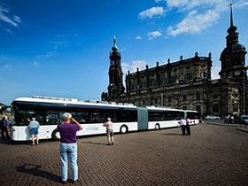 В Германии появился самый длинный в мире автобус