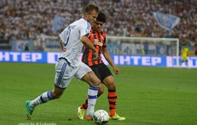Сегодня Динамо и Шахтер сыграют в матче за Суперкубок Украины