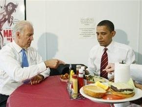 Обама пообедал в фастфуде