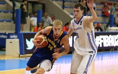 Сборная Украины уступила Германии на молодежном Евробаскете