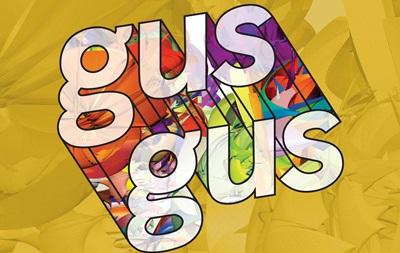 В Киеве выступят GusGus