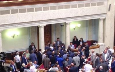 В Раде возникла потасовка после голосования по децентрализации