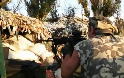 Батальон Днепр показал бой за Пески