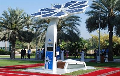 В Дубае установили раздающие Wi-Fi  пальмы