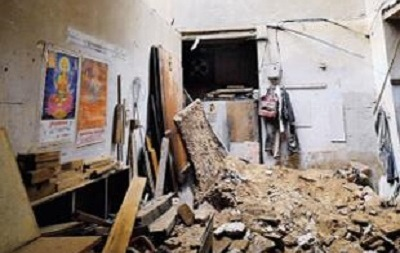 В Дели обрушилось жилое здание, есть погибшие