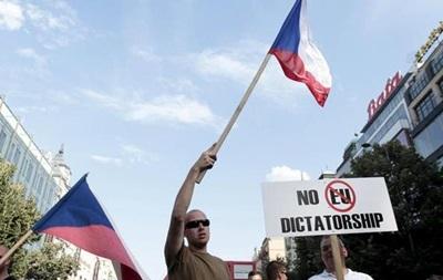 В Праге прошли акции правых радикалов и антифашистов