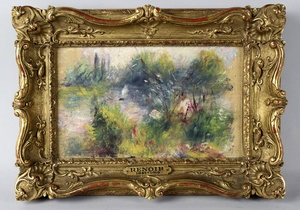 Картину Ренуара сняли с аукциона - она оказалась краденая