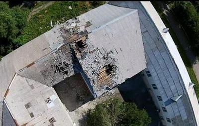 В Донецке под обстрел попала центральная больница