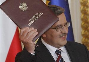 Польша понесла имиджевые потери из-за договора о газопроводе в обход Украины - президент