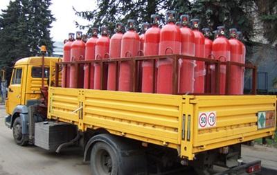 Облгазы прекратили продажу населению газа в баллонах