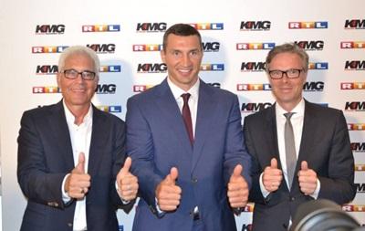 Кличко подписал долгосрочный контракт с немецким каналом