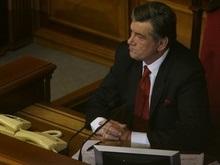 Партия регионов не поддержит импичмент Ющенко