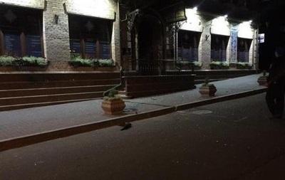 В МВД рассказали о  хулиганском  обстреле киевского банка