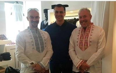 Макаревич посетил Киев и надел вышиванку