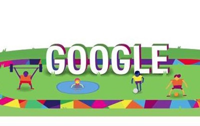 Google отмечает дудлом старт Олимпиады в Лондоне