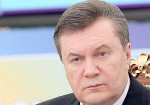 Опрос: Президентский рейтинг Януковича уменьшился почти в два раза