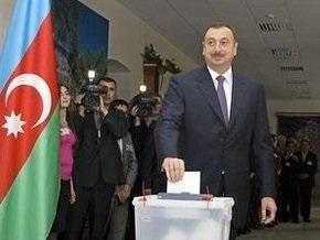 ЦИК Азербайджана: На выборах президента Алиев набрал 89,04% голосов