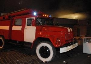 В Сумской области безработный угнал пожарную машину