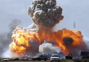Французские ВВС разбомбили командный центр Каддафи под Триполи