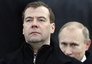Медведев считает, что его задача - создать на политическом поле РФ конкуренцию
