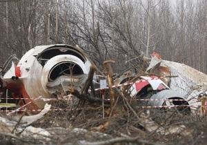 Россия передала Польше новые материалы по катастрофе самолета Качиньского
